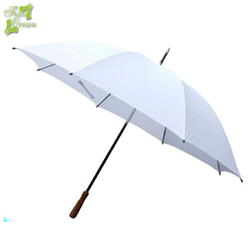 Custom Print Plain Personal Parasol Sun Protect Cheap Rain White