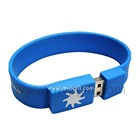 Custom flash usb stick, wristband usb disc for promotion gift
