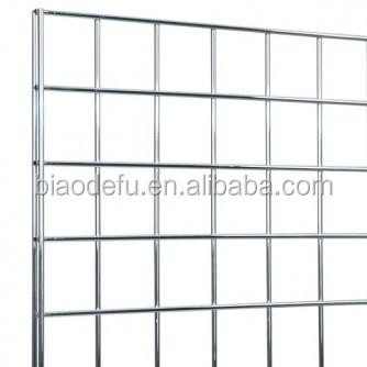 Customized chrome powder coating metal gridwall grid wall panel buy grid wall metal grid wall - Wandrek ijzeren ...