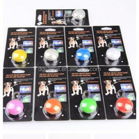Low Price of 8 colors led pets dog tag with CE certificate