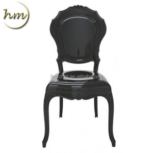 Wholesale black acrylic beautiful time chair