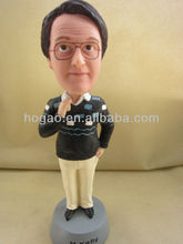 hand made bobble head, custom bobble head