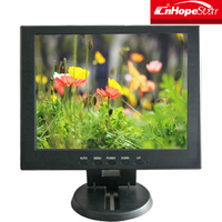 Small lcd monitor with av input portable lcd monitor 10 inch 10.4 inch computer case
