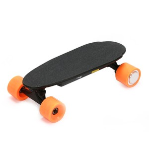 remote controlled mini electric skateboard