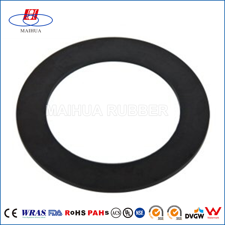 Oil resistant nbr epdm viton round water tank rubber seal gasket