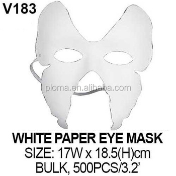 3d kid butterfly craft white paper eye mask buy paper masks for
