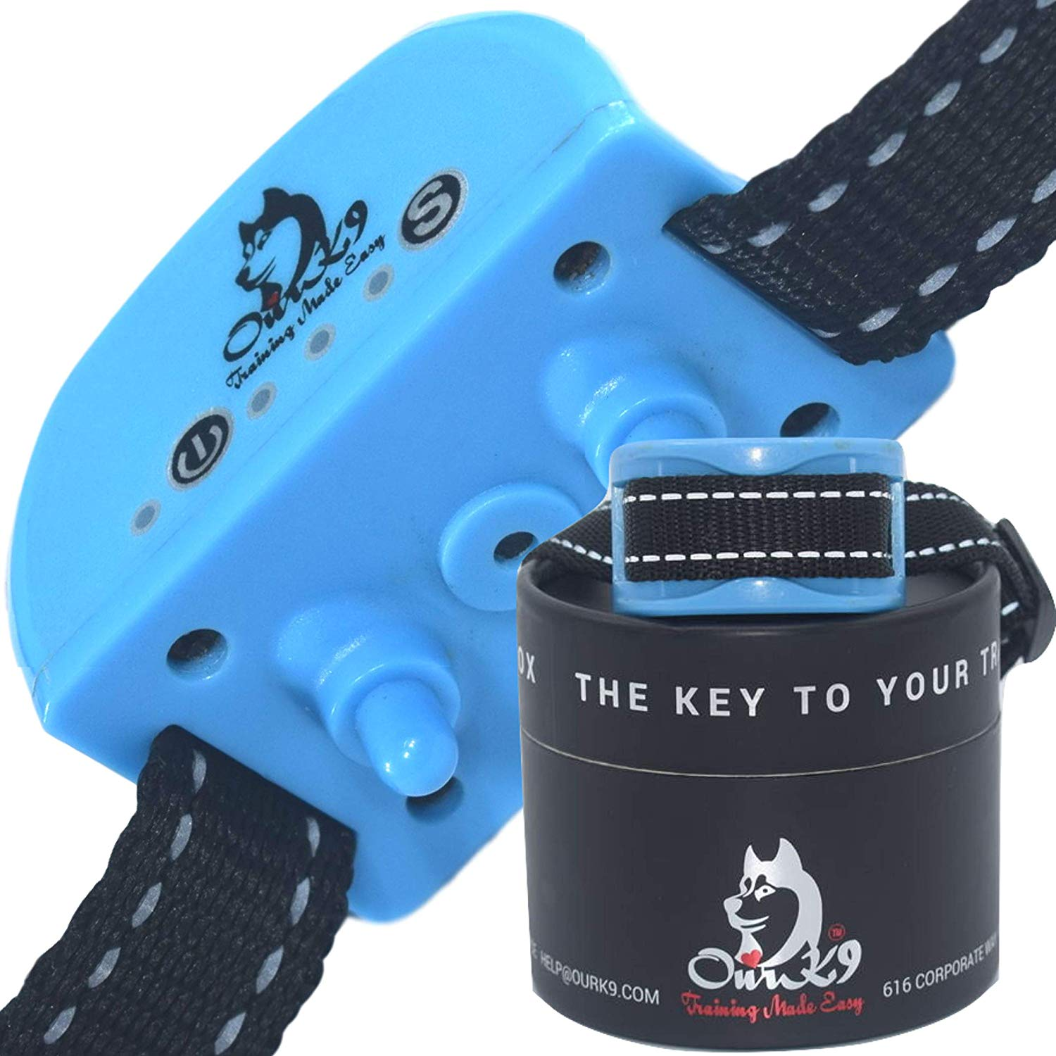 Bark Collar for Small Dog | Vibration Collar | Humane Bark Collar | Stop Dog Barking | Dog Anti Barking Device | Rechargeable Bark Collar | No Shock Bark Collar | Puppy Bark collar