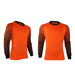 Sublimation Printed Soccer Goal Keeper Jerseys With Long Sleeves