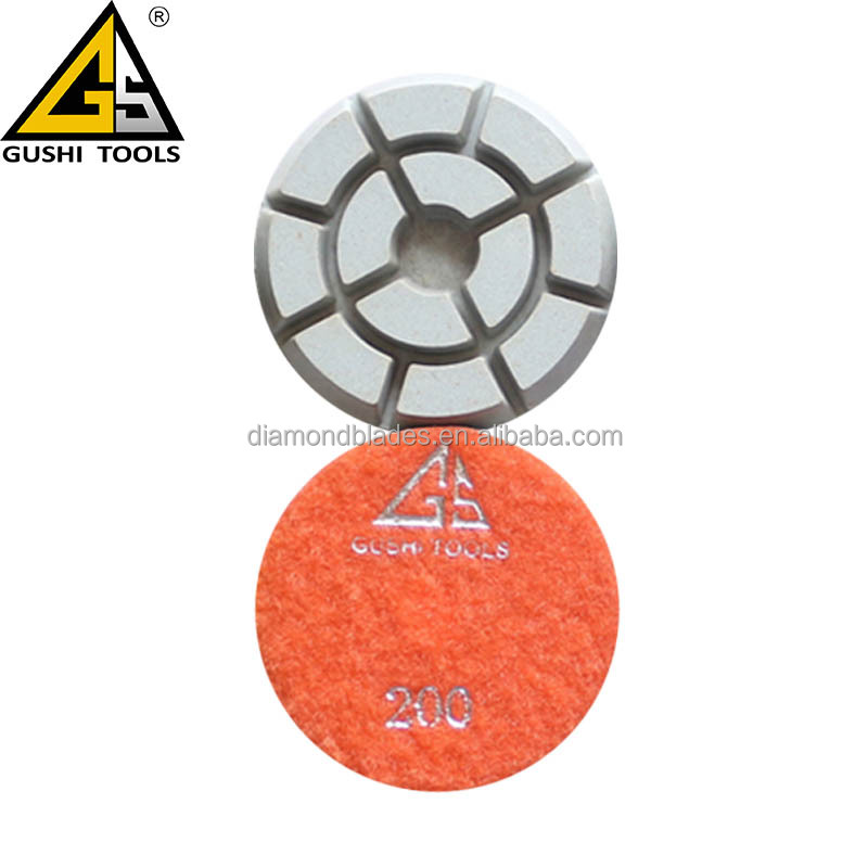 3' 200# Resin Dry Cleaning floor Polishing Pads