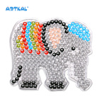 Artkal Intelligent Toys Hama Perler Beads Peg Board for Kids