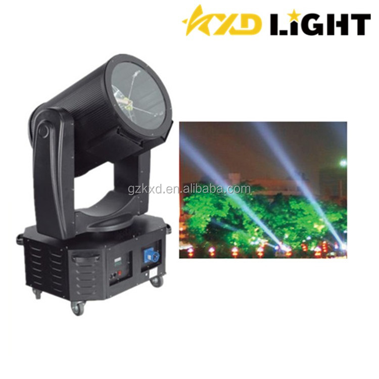 Technical High Power Moving Head 3KW/4KW/5KW Fleshing Search Light prices