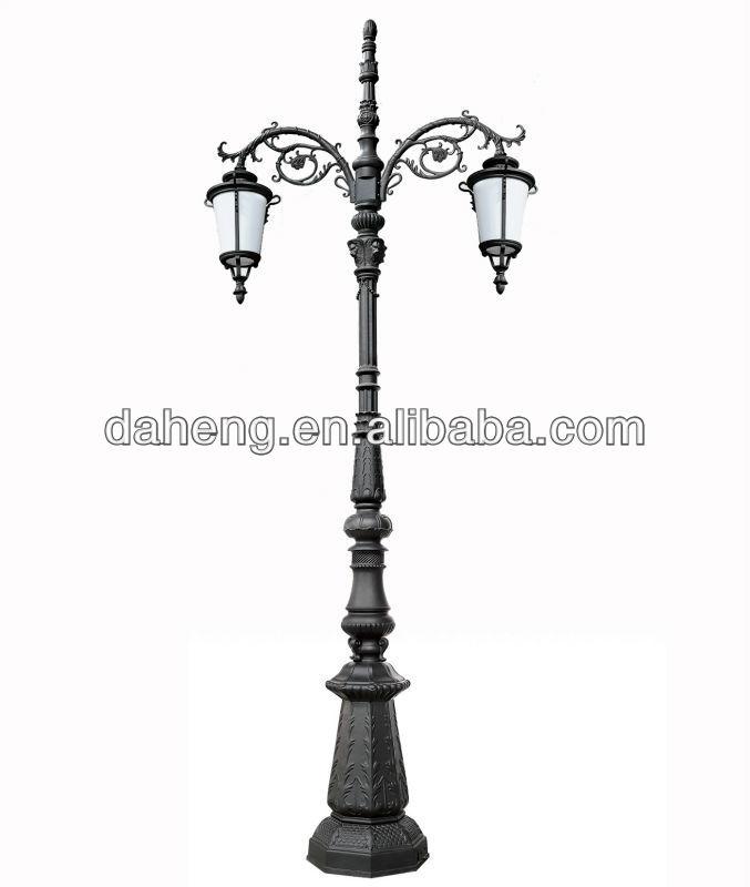 Fancy Outdoor Post Lights: Decorativo Antigo Poste De Iluminação Ao Ar Livre/jardim