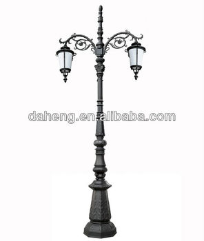 Decorative Antique Outdoor Lighting Pole Garden Post Light And Lantern Dh 340019 Buy Decorative Garden Light Antique Garden Light Post Garden Post