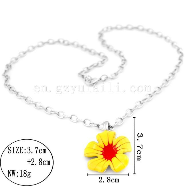 fashion stainless steel necklace/ stainless steel omega necklace
