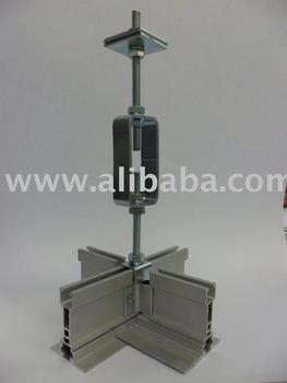 Cleanroom Walkable Ceiling Heavy Duty Ceiling Grid