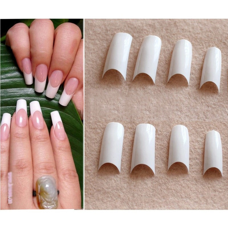 Hot Sale French Smile Women Nail Art Tips