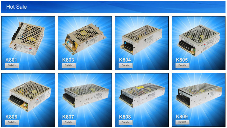5v 12v 12v triple output power supply 20w from china supplier