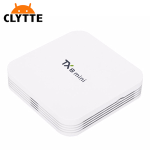 Clytte TX8 MINI tv box android 7.0 Amlogic S912 android hd tv box linux 5G WIFI Bluetooth 4.0 Set Top Box 4K Media player