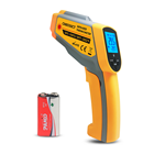 Dual Laser Infrared Thermometer Non-Contact Digital Temperature Measuring Gun with Adjustable Emissivity for industris