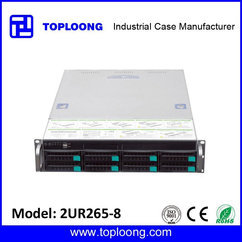 Wholesale server case rackmount chassis 2U 8 bays server Storage ...