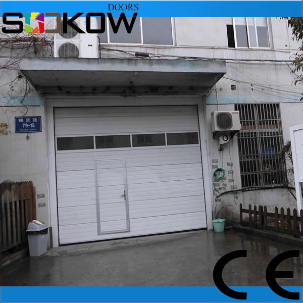 Insulated sectional glass garage door buy insulated for Sectional glass garage door