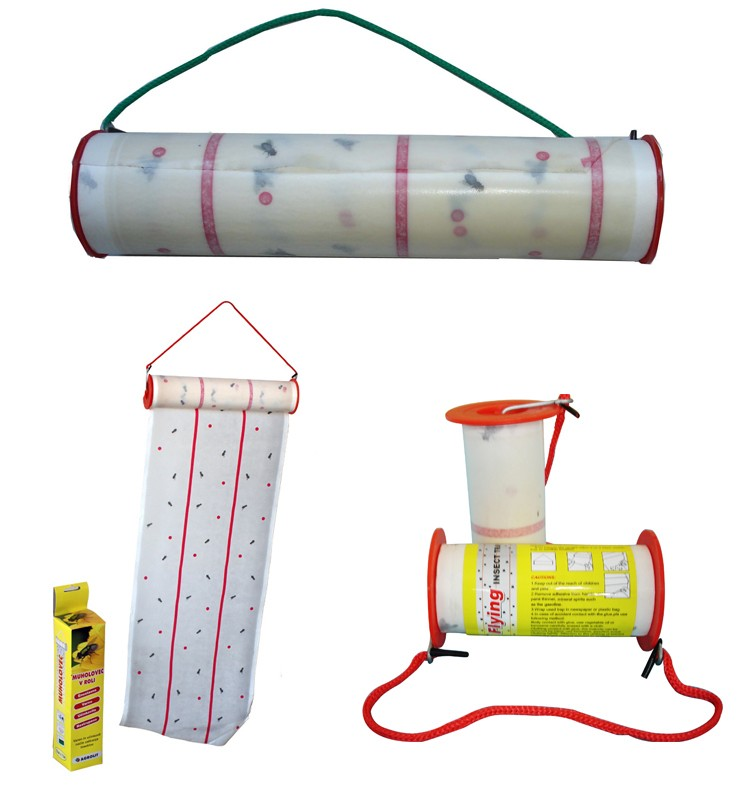 Effective Fly Glue Trap Non Toxic Fly Catcher Scent