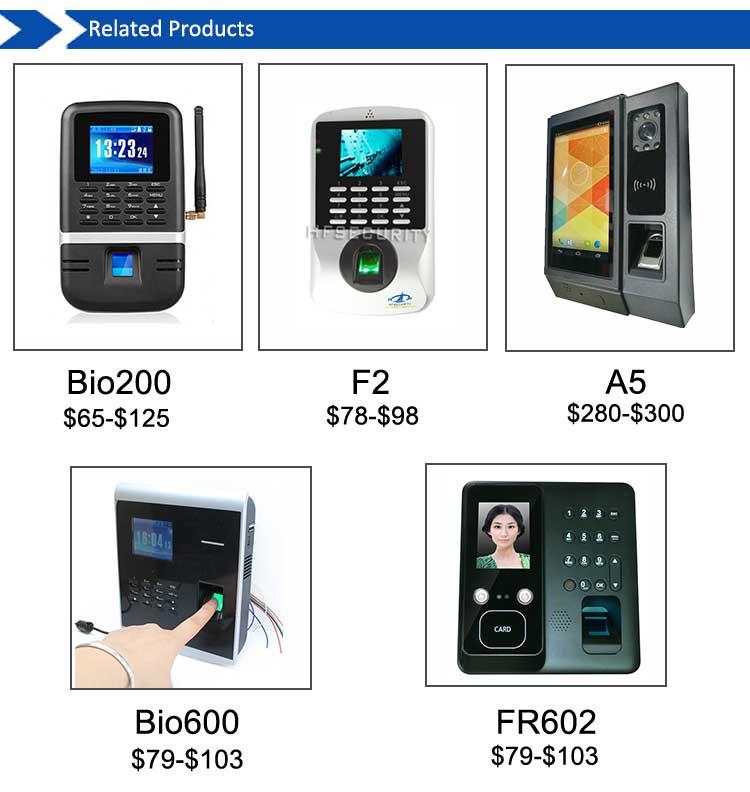 Fingerprint Electronic Time Attendance Device U260 Zk