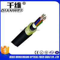 self supporting aerial use all dielectric outdoor ADSS fiber