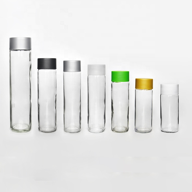 100ml 400ml 500ml 800ml Fashion Cheap Empty Cylindrical Voss Water Glass  Bottle With Private Logo - Buy Voss Style Glass Bottle,Voss Water  Bottle,Voss