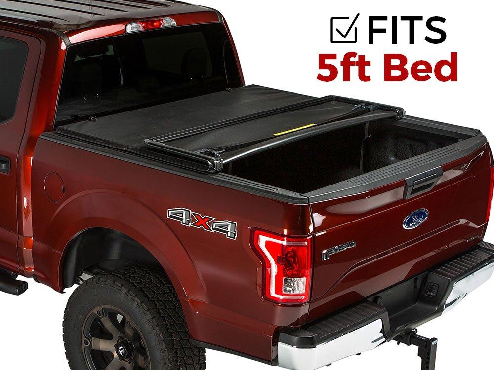 296063e6e53 Gator Tri-Fold Tonneau Truck Bed Cover 2005-2015 Toyota Tacoma 5 ft Bed