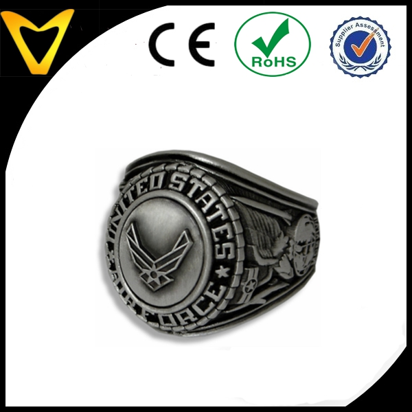 Hot Sale Cheap Military Rings For Men Stainless Steel