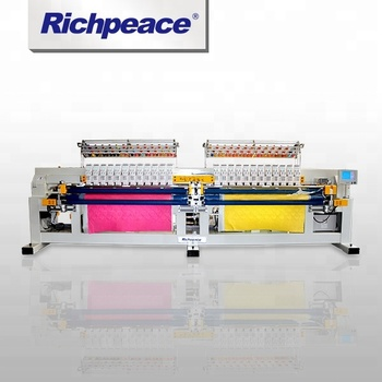 Richpeace Computerized Double Roll Embroidery and Quilting Machine