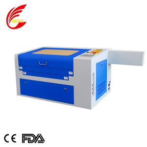 Chinese wood acrylic plastic leather used laser engraver for sale