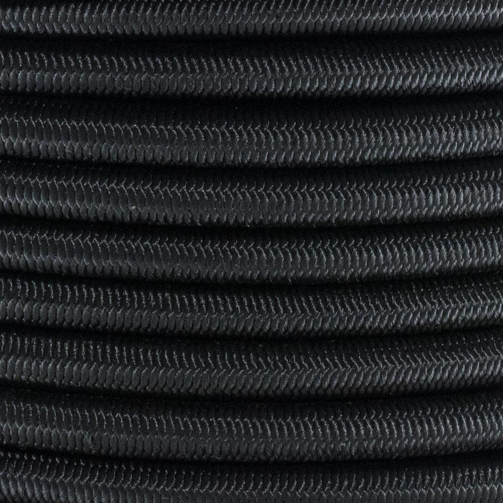 PARACORD PLANET 3/8 Inch Elastic Bungee Nylon Shock Cord Stretch String Crafting – Various Colors – 10, 25, 50 & 100FT Lengths Made In USA