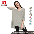 Wholesale latest blank Polyester tunic tops designs for women