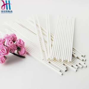 Fda Approved Hot Sale High Quality Pressed Brown Lolly Candy Paper Stick
