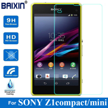 2.5D 0.3mm Premium  For Sony Xperia Z1 Mini Compact M51W Tempered Glass Anti-shatter Explosion Proof Protector Screen film