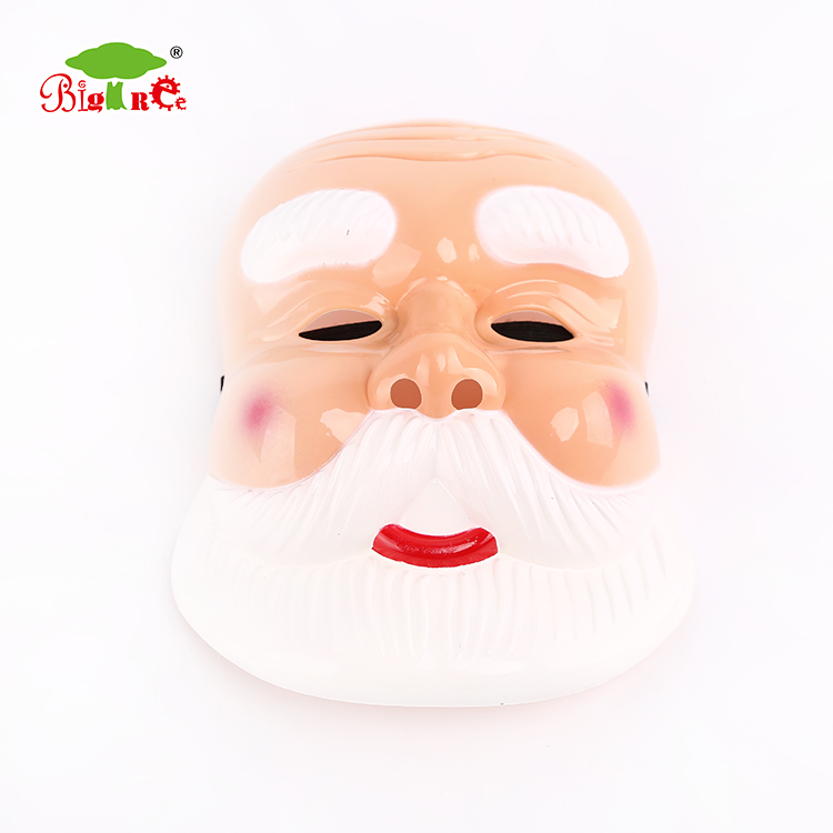 Hot selling Christmas custom santa claus face mask for role play