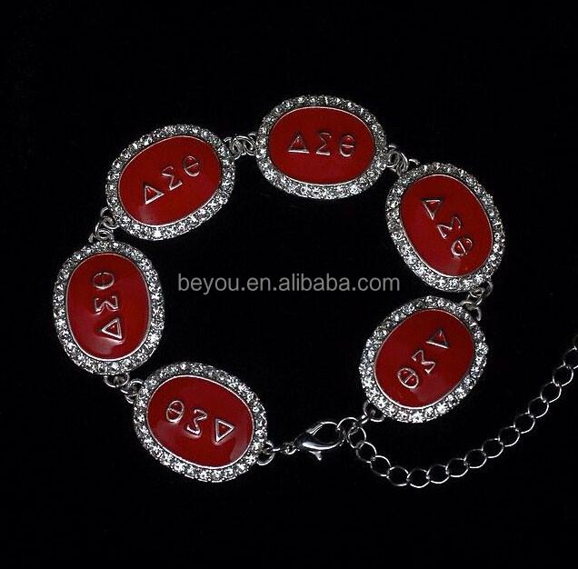 629ce2146eb1 Las letras griegas de la hermandad y la fraternidad accesorios regalos 550  Paracord pulseras DST ajustable