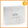 Custom Printed Eco-friendly Reusable white Paper Packing Shopping Bag