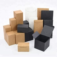 Wholesale Cosmetic Plain Craft Gift Paper Box