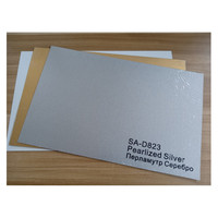 Handsub Brushed Silver (SA-D819) Dye Sublimation Metal Blank for Aluminum Sheet Plate