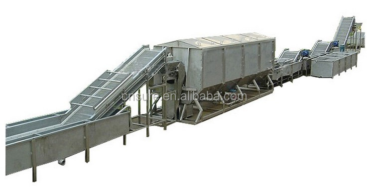 Customized IQF Frozen Vegetable&Fruit/Chili/Spinach/ Cabbage Pre-processing Production Line/Equipments