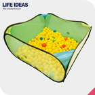 eco friendly hot sell playpen pop up foldable kids play ball pit tent play den indoor & outdoor children tent for play
