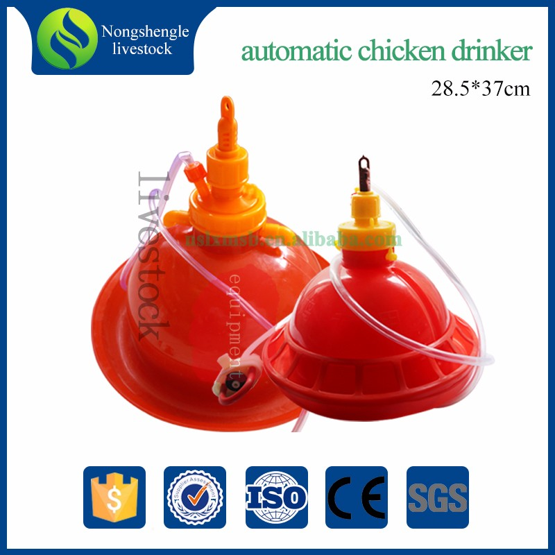 Plastic Chicken Cages Drinkers For Brioler Chicken Poultry Pan Feeder