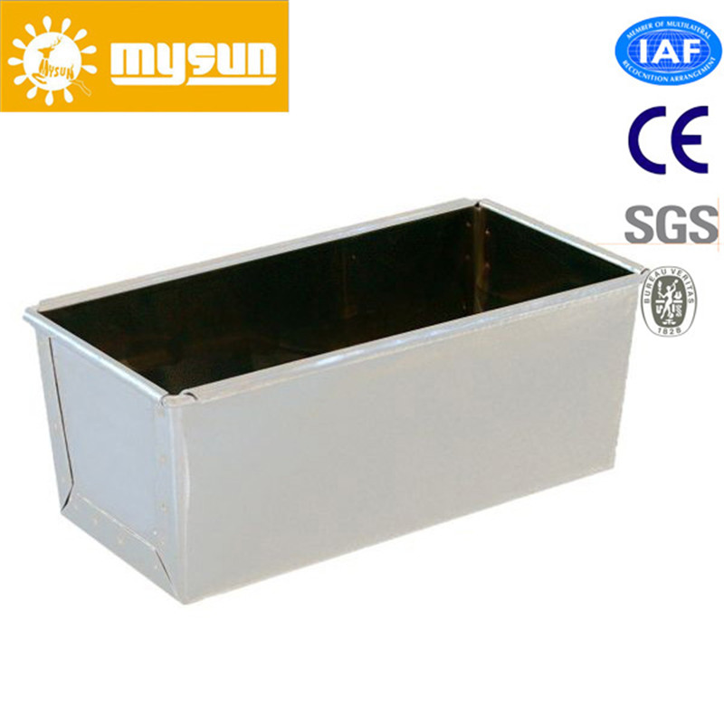 1200g Aluminum Steel None Stick Toast Box for Bakery Usage