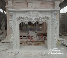 Brand new composite stone fireplaces with good technology