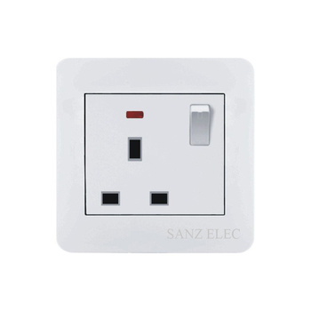 British Standard 13a Electrical Outlet Switch Wall Socket - Buy ...