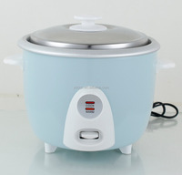 SMALL SIZE CAPACITY NEW TRAVEL NATIONALWHOLESALE ELECTRIC HOT SALE DRUM RICE COOKER WHITE COLOR PLASTIC FLOWER OUTER CASE BODY
