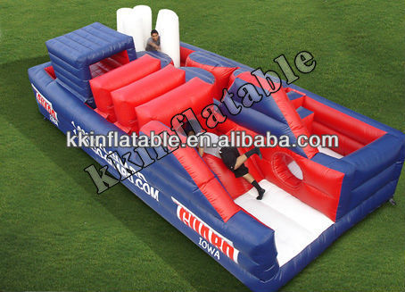 Fantasy Outdoor Inflatable Obstacle Course Games